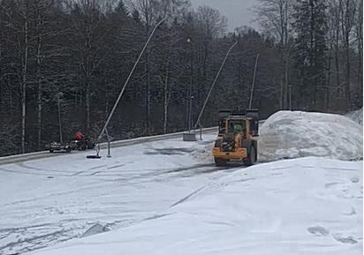 Utkörning av snö